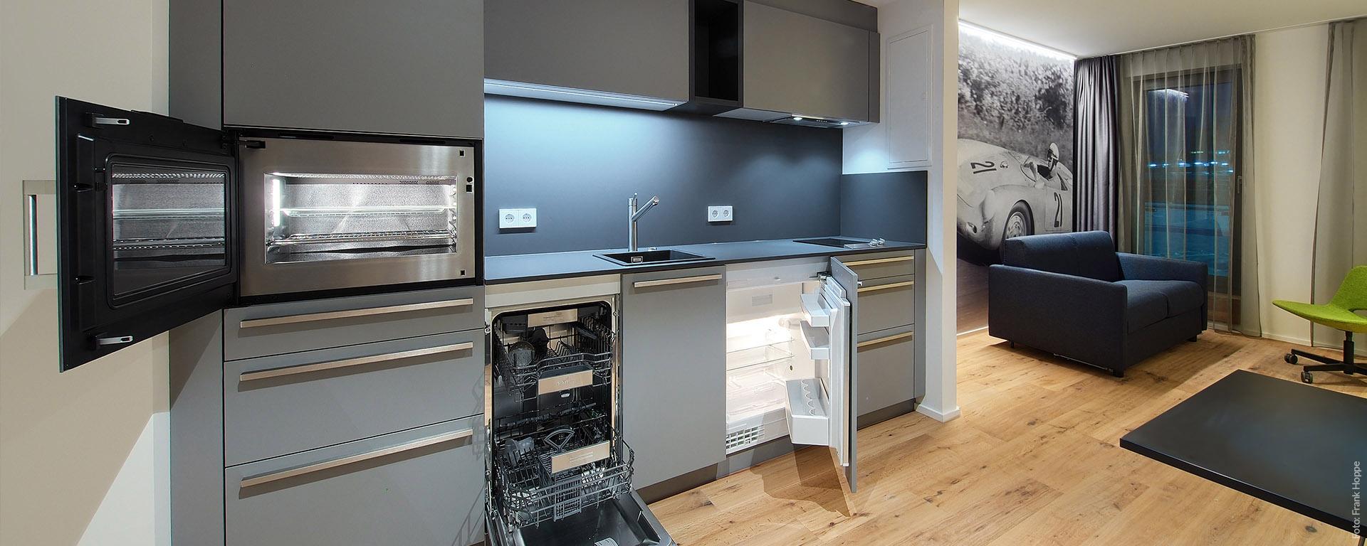 Appartment Unterkunft mit Küche für Ihren Business-Aufenthalt und als Service- und Montagezimmer-Appartment.