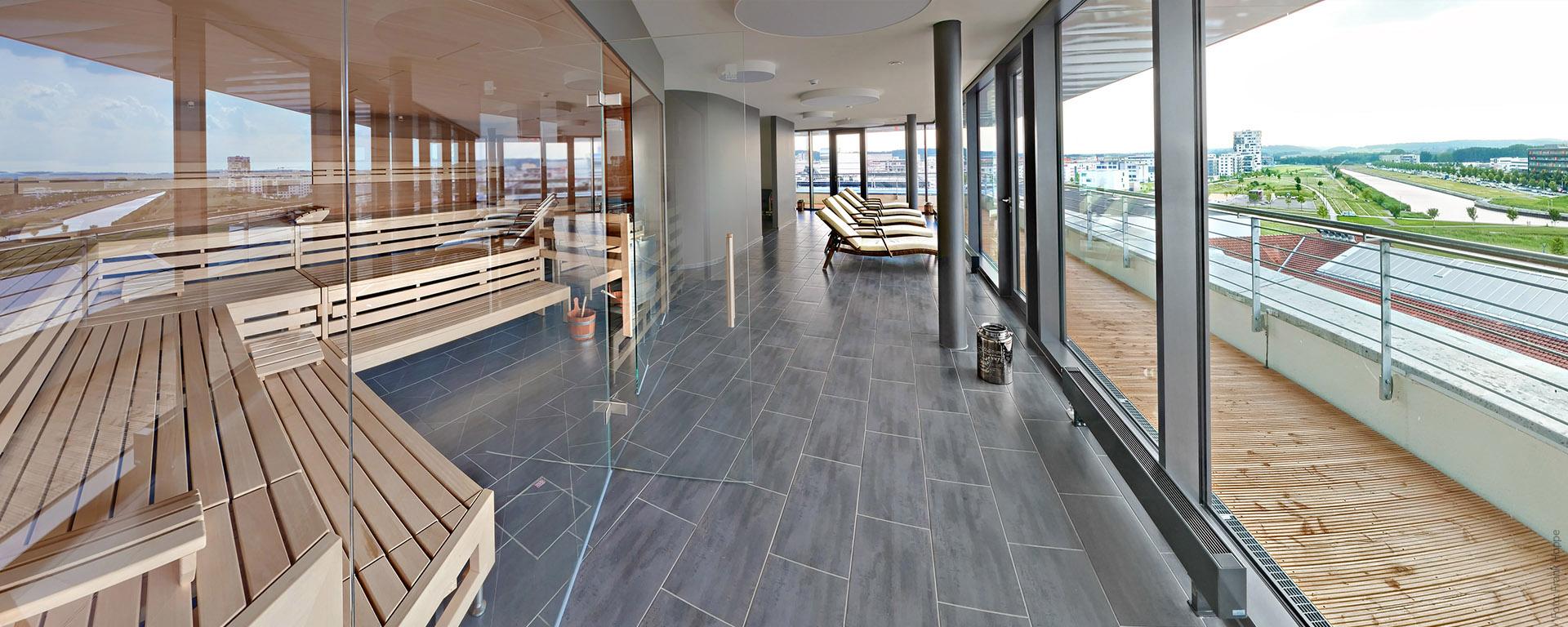 V8 HOTEL- Wellness- & Saunalandschaft, Entschleunigung, Entspannung und Erholung - Böblingen-Flugfeld, Region Stuttgart